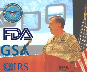 IRS, FDA, DoD Tout RPA at Industry Day