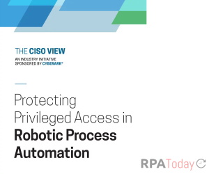 Firms Implementing RPA Must Enhance Cyber Security Says Report