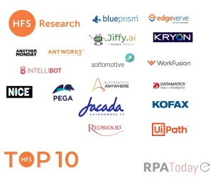 Report: AA, UiPath, Blue Prism Head List of Top 10 RPA Providers