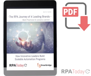 New White Paper Details How Familiar Brands Got Started with RPA