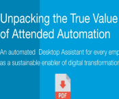 Unleash your employees and processes by strategically using attended and unattended automation in tandem